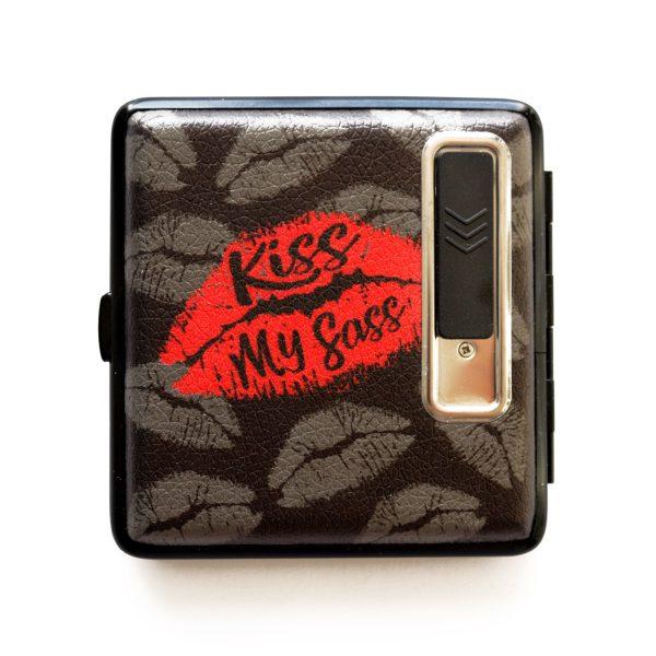 Sassonus USB Cigarette Lighter Case