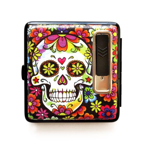 Dahlia Candy USB Cigarette Lighter Case