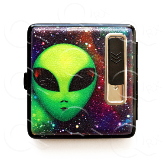 Shelter Alien USB Cigarette Lighter Case