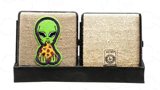 Alien Pizza Hemp Cigarette Case