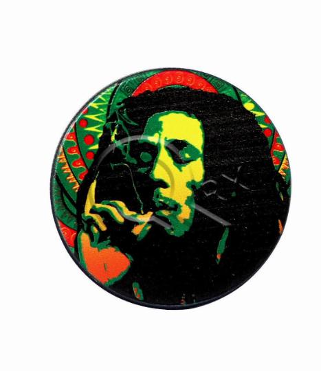 Bob Marley Black Metal Grinder