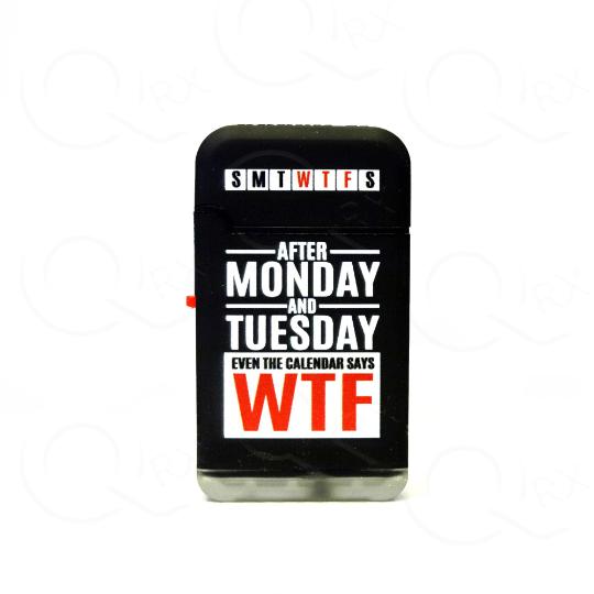 Modish Weekdays Dual Torch Flip Lighter