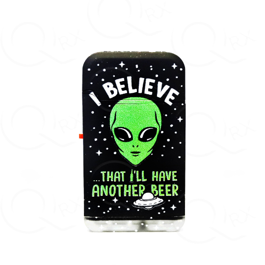 Lucid Alien Dual Torch Flip Lighter