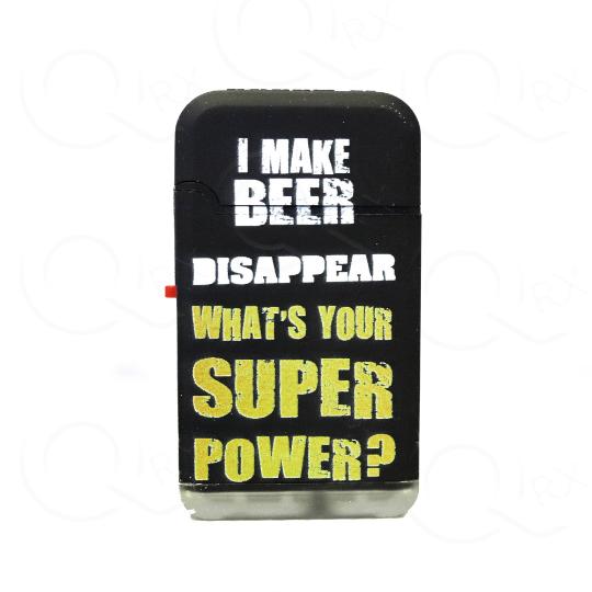 I Make Beer Disappear Dual Torch Flip Lighter