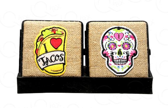 Taco Daze Hemp Cigarette Case