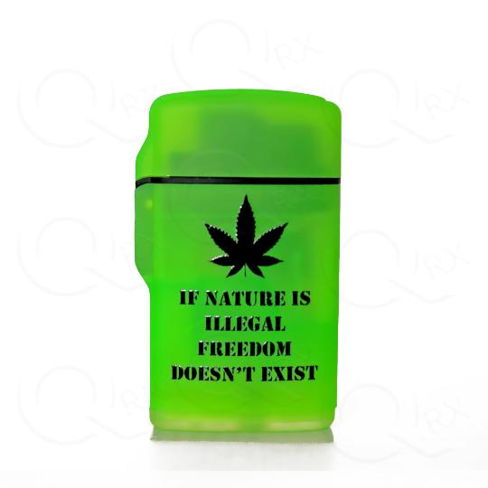 Illegal Nature Flip Torch Lighter