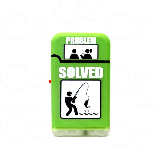Problem Solved Dual Torch Flip Lighter