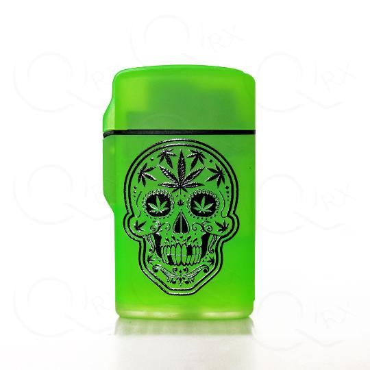 Sonic Skull Flip Torch Lighter