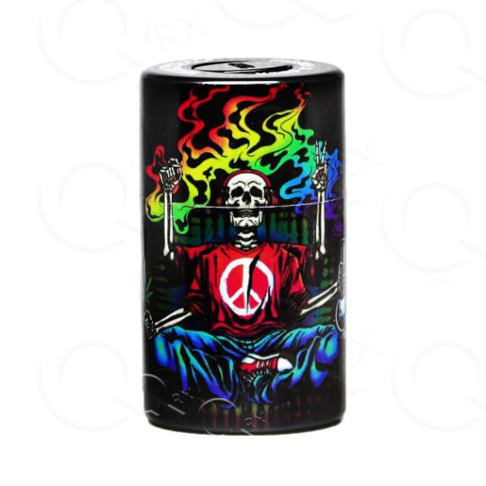 Rakish Skull Vacuum Stash Container