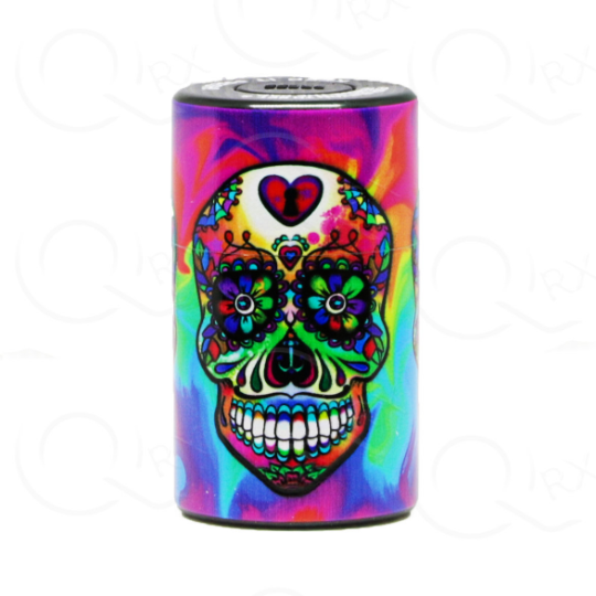 Popping Skull Candy Vacuum Stash Container