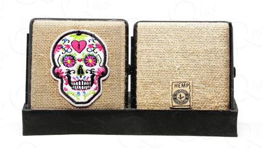 White Skull Legion Hemp Cigarette Case