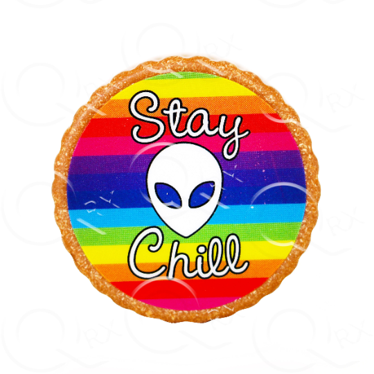 Stay Chill Resin Grinder