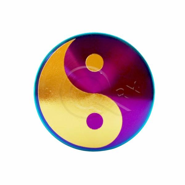 Ying and Yang Rainbow Metal Grinder