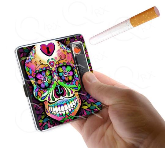 Vixen Heart USB Cigarette Lighter Case
