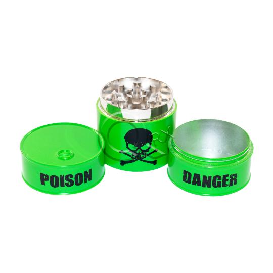 Sapphire Poison Metal Grinder w/ Storage