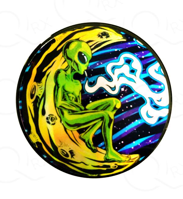 Shrooms Alien Metal Grinder