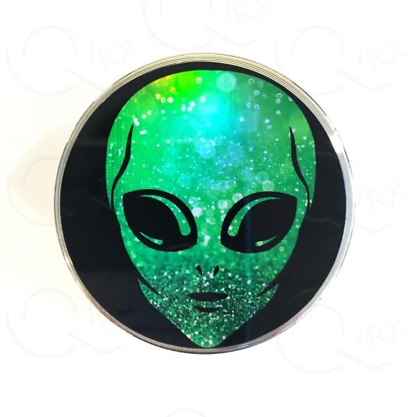 Sparkly Alien Metal Grinder