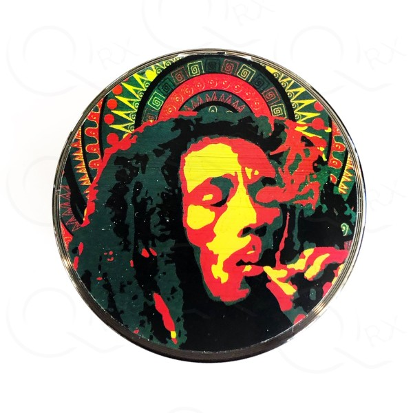 Bob Marley Metal Grinder