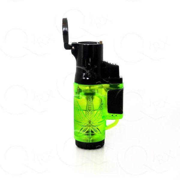 Superb Cannabis Molded Torch Lighter