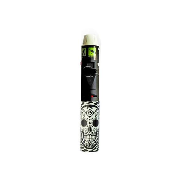 Black Skull Torch Stick Lighter